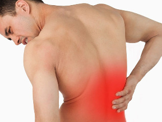 Back pain and lower back pain in men