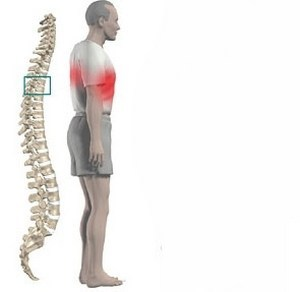 back pain that hurts in the chest
